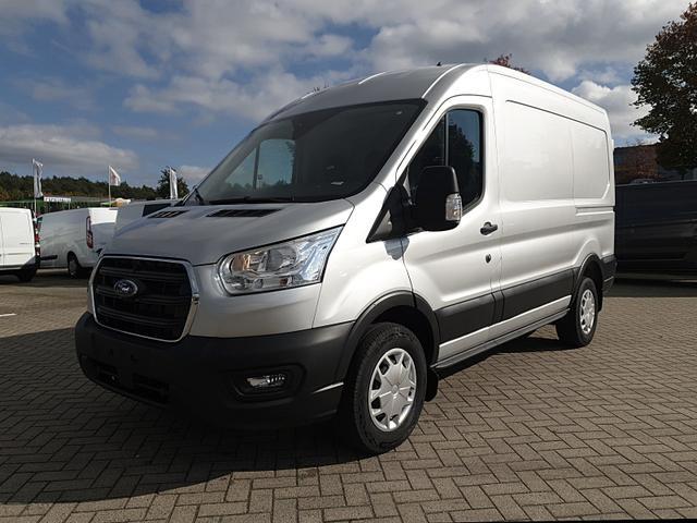 Ford Transit Custom - 350 L2H2 2.0TDCi 108PS Trend 3,5t 3-Sitzer Klima PDC v h Radio mit Bluetooth Anhängerkupplung Frontscheibe beheizb. Vorlauffahrzeug