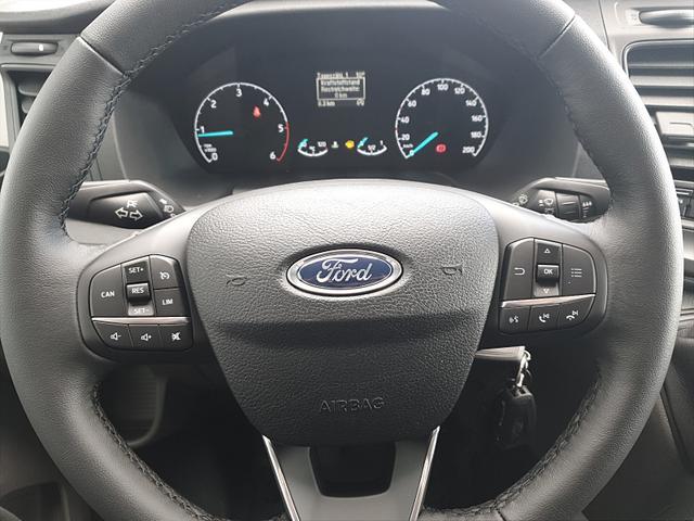 Transit Custom 350 L2H2 2.0TDCi 108PS Trend 3,5t 3-Sitzer Klima PDC v+h Radio mit Bluetooth Anhängerkupplung Frontscheibe beheizb.