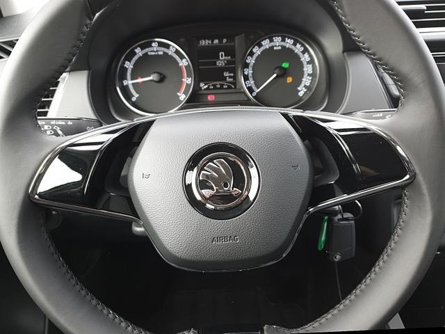 Skoda Fabia Combi 1.0 TSI 95PS DSG Ambition Sitzhei Sitzheizung Klima Skoda-Radio mit Bluetooth Apple CarPlay Android Auto Dachreling PDC LM-Felgen Nebelsch.