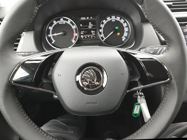Fabia Combi 1.0 TSI 95PS DSG Ambition Sitzhei Sitzheizung Klima Skoda-Radio mit Bluetooth Apple CarPlay Android Auto Dachreling PDC LM-Felgen Nebelsch.