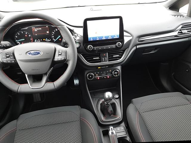 Fiesta 1.0 95PS EcoBoost ST-Line 5-türig Klimaautomatik Sitzheizung Lenkradheizung Frontscheibe beheizb. Navi PDC B+O Sound Keyless