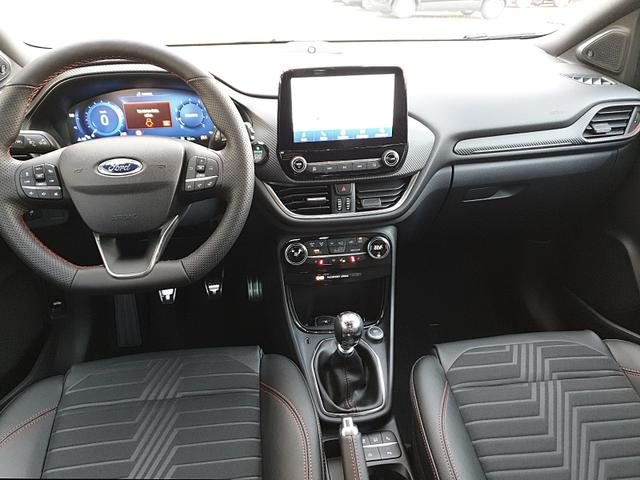 Puma 1.0 EcoBoost Hybrid 125PS ST-Line X LED-Scheinw. Klimaautomatik Winter-Paket Ford-Navi SYNC3 DAB+ 8''-Touchscreen mit Bluetooth Apple CarPlay Android Auto B+O Sound PDC v+h Rückf.Kamera Teil-Leder