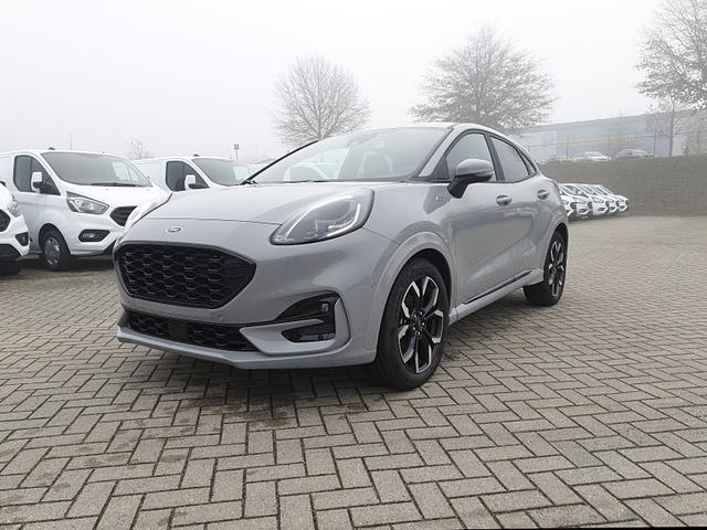 Lagerfahrzeug Ford Puma - 1.0 EcoBoost Hybrid 125PS ST-Line X LED-Scheinw. Klimaautomatik Winter-Paket Ford-Navi SYNC3 DAB  8''-Touchscreen mit Bluetooth Apple CarPlay Android Auto B O Sound PDC v h Rückf.Kamera Teil-Leder