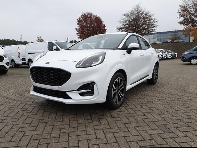 Ford Puma - 1.0 EcoBoost Hybrid 125PS ST-Line Klimaautomatik Sitzheizung Lenkradheizung Ford-Navi SYNC3 DAB+ 8''-Touchscreen mit Bluetooth Apple CarPlay Android Auto B+O Sound Frontscheibe beheizb. PDC