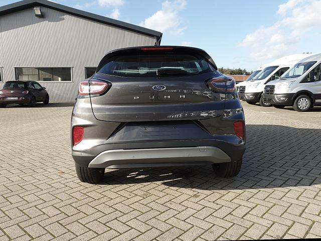 Ford (EU) Puma 1.0 EcoBoost Hybrid 125PS Titanium Klimaautomatik Ford-Navi SYNC3 DAB+ 8''-Touchscreen mit Bluetooth Apple CarPlay Android Auto Sitzheizung Lenkradheizung Frontscheibe beheizb. PDC