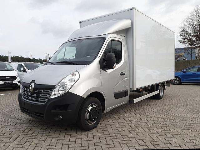 Lagerfahrzeug Renault Master Kastenwagen - Kofferaufbau 2.3 dCi 163PS L4H1 4,5t 3-Sitzer Klimaautomatik Navi Sitzheizung Fahrtenschreiber Ladebordwand ''DHOLLANDIA''