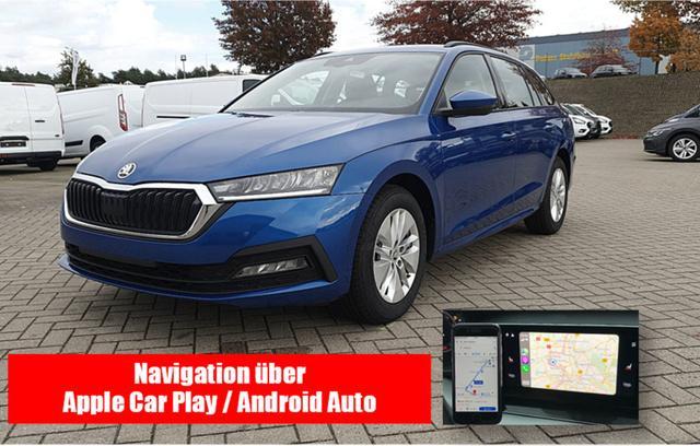 Skoda (EU) Octavia Combi      1.5 TSI 150PS Ambition NEUES MO MODELL Voll-LED Sitzheizung Klimaautomatik Skoda-Radio Swing 8''-Touch-Bildschirm DAB+ mit Bluetooth Apple CarPlay Android Auto PDC