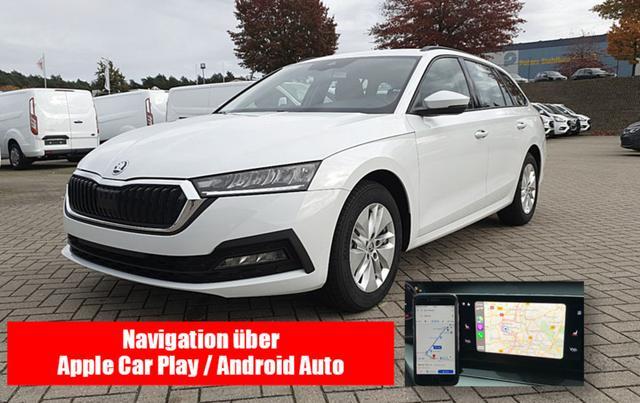 Skoda Octavia Combi - 1.5 TSI 150PS Ambition NEUES MODELL Voll-LED Sitzheizung Klimaautomatik Skoda-Radio Swing 8''-Touch-Bildschirm DAB  mit Bluetooth Apple CarPlay Android Auto PDC Vorlauffahrzeug