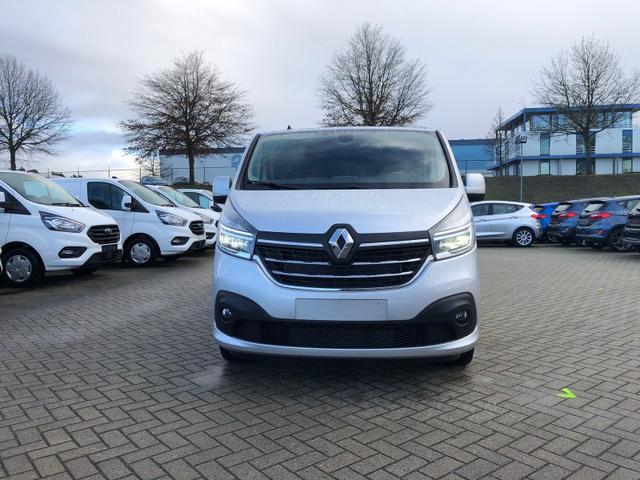 Trafic Doppelkabine L2H1 2.0 dCi 145PS Komfort+ 3,0t 5-Sitzer Voll-LED Anhängerkupplung Klimaautomatik Renault-Navi Touch-Bildschirm mit Bluetooth Parksensoren Tempomat 17-LM Rollos hinten