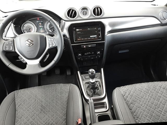 Vitara 1.4 129PS HYBRID Comfort Voll-LED Klimaautomatik Sitzheizung Navi PDC v+h Rückf.Kamera Tempomat mit ACC