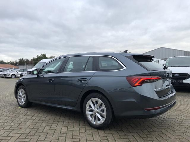 Skoda Octavia Combi 1.5 TSI 150PS Style NEUES MODELL Matrix-LED AFS Virtual Cockpit Navi Columbus 10''-Touchscreen Winter-Paket Anschlussgarantie 08.11.2025 2xKeyless