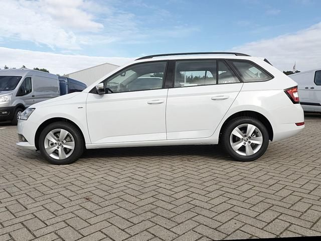 Fabia Combi      1.0 TSI 95PS Ambition Sitzheizung Klima Skoda-Radio mit Bluetooth Apple CarPlay Android Auto Dachreling PDC LM-Felgen Nebelsch.