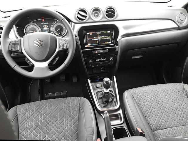 Vitara 1.4 129PS HYBRID Comfort Voll-LED Klimaautomatik Sitzheizung Suzuki-Navi Apple CarPlay Android Auto PDC v+h Rückf.Kamera Tempomat mit ACC