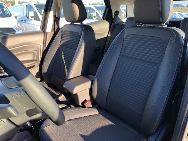 EcoSport 1.0 EcoBoost 125PS Titanium Teil-Leder Klimaautomatik Ford-Navi SYNC3 DAB+ 8''-Touchscreen mit Bluetooth Apple CarPlay Android Auto Sitzheizung Lenkradheizung Frontscheibe beheizb. PDC