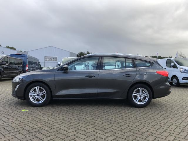 Ford Focus Turnier - 1.0 EcoBoost 125PS Cool & Connect LED-Scheinwerfer Klimaautomatik Sitzheizung Lenkradheizung Ford-Navi SYNC3 DAB+ 8''-Touchscreen mit Bluetooth Apple CarPlay Android Auto Frontscheibe beh