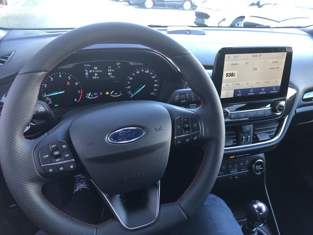 Fiesta 1.0 EcoBoost 95PS ST-Line X 5-türig Voll-LED Klimaautomatik Keyless Sitzheizung Lenkradheizung Frontscheibe beheizb. B+O Sound Ford-Navi SYNC 3 DAB+ Bluetooth 8''-Touchscreen Apple Carplay Andr
