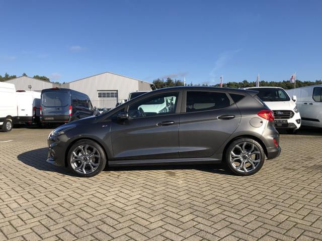 Ford Fiesta - 1.0 EcoBoost 95PS ST-Line X 5-türig	 Voll-LED Klimaautomatik Keyless Sitzheizung Lenkradheizung Frontscheibe beheizb. B+O Sound Ford-Navi SYNC 3 DAB+ Bluetooth 8''-Touchscreen Apple Carplay Andr