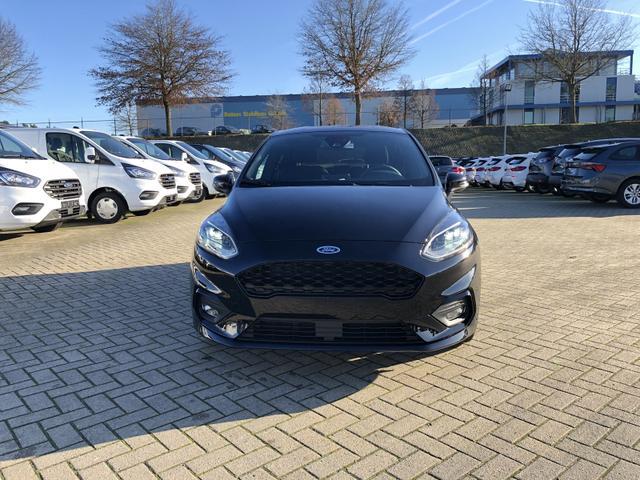 Ford Fiesta 1.0 EcoBoost 95PS ST-Line X 5-türig Voll-LED Klimaautomatik Keyless Sitzheizung Lenkradheizung Frontscheibe beheizb. B+O Sound Ford-Navi SYNC 3 DAB+ Bluetooth 8''-Touchscreen Apple Carplay Andr