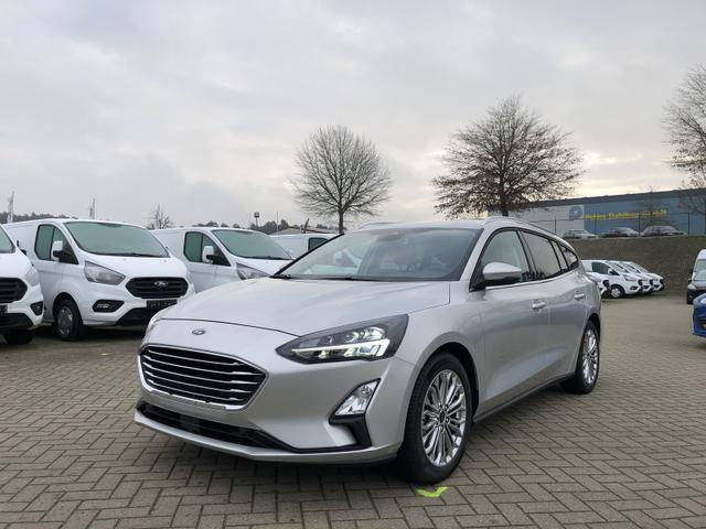 Focus Turnier      1.0 EcoBoost 125PS Titanium Voll-LED Klimaautomatik Sitzheizung Lenkradheizung Ford-Navi SYNC3 DAB+ 8''-Touchscreen mit Bluetooth Apple CarPlay Android Auto Frontscheibe beheizb. PDC v+h