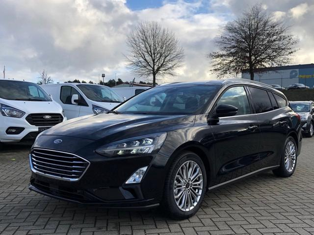 Focus Turnier      1.0 EcoBoost 125PS Titanium Voll-LED Komfortsitze (2x) mit Sitzheizung Lenkradheizung Klimaautomatik Ford-Navi SYNC3 DAB+ 8''-Touchscreen Bluetooth Apple CarPlay Android Auto Frontsch