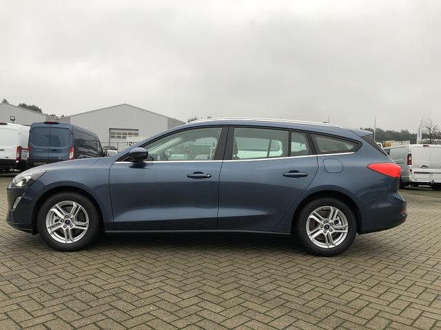 Ford Focus Turnier - 1.0 EcoBoost 100PS Cool & Connect LED-Scheinw. Rückf.Kamera Winter-Paket Klima Ford-Navi SYNC3 DAB+ 8''-Touchscreen mit Bluetooth Apple CarPlay Android Auto PDC v+h