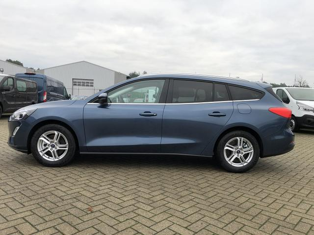 Ford Focus Turnier - 1.0 EcoBoost 100PS Cool & Connect Winter-Paket AbstandsTempomat LED-Scheinw. Klima Ford-Navi SYNC3 DAB+ 8''-Touchscreen mit Bluetooth Apple CarPlay Android Auto PDC v+h Rückf.Kamera abged