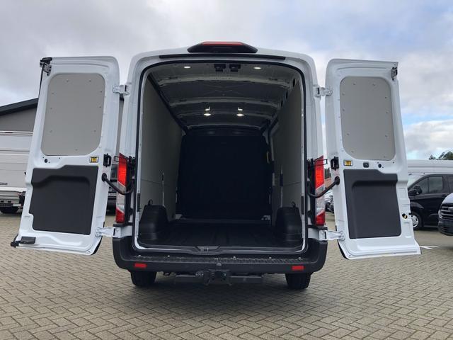 Transit Custom 310 L3H2 2.0 TDCi 108PS Trend 3,1t 3-Sitzer Klima Anhängerkupplung Ford-Radio Bluetooth 8''-Touchscreen Apple Carplay Android Auto Rückf.Kamera Frontscheibe beheizb. PDC v+h Tempomat