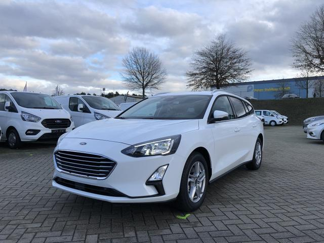 Ford Focus Turnier - 1.0 EcoBoost 100PS Cool & Connect LED-Scheinw. abg. Scheiben Klima Ford-Navi SYNC3 DAB+ 8''-Touchscreen mit Bluetooth Apple CarPlay Android Auto PDC v+h Rückf.Kamera