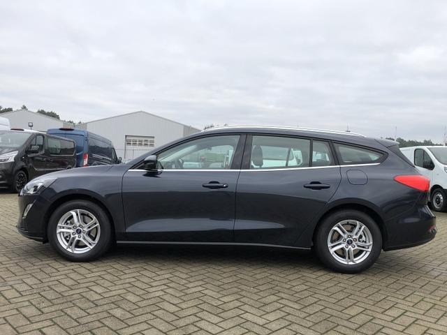 Ford Focus Turnier - 1.0 EcoBoost 100PS Cool & Connect Klima LED-Scheinw. Ford-Navi SYNC3 DAB+ 8''-Touchscreen mit Bluetooth Apple CarPlay Android Auto PDC v+h Rückf.Kamera