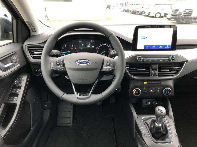 Focus Turnier 1.0 EcoBoost 100PS Cool & Connect Klima LED-Scheinw. Ford-Navi SYNC3 DAB+ 8''-Touchscreen mit Bluetooth Apple CarPlay Android Auto PDC v+h Rückf.Kamera