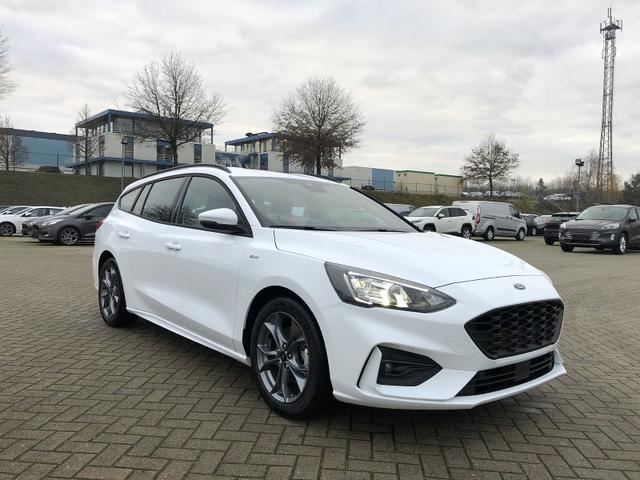 Focus Turnier 1.0 EcoBoost Hybrid 125PS ST-Line Ford-Navi SYNC3 DAB+ 8''-Touchscreen mit Bluetooth Apple CarPlay Android Auto LED-Scheinw. Klimaautomatik PDC v+h Rückf.Kamera
