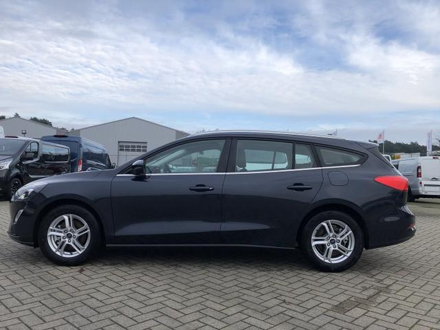 Ford Focus Turnier - 1.0 EcoBoost 125PS Cool & Connect LED-Scheinw. Klima Ford-Navi SYNC3 DAB+ 8''-Touchscreen mit Bluetooth Apple CarPlay Android Auto PDC v+h Rückf.Kamera 16-LM