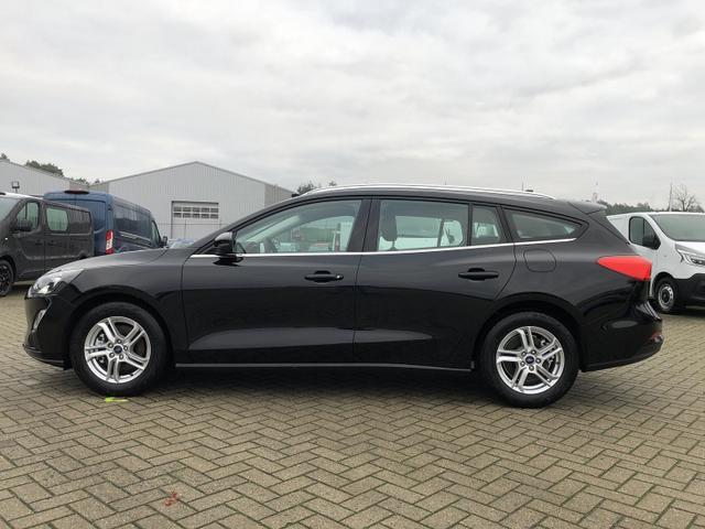 Focus Turnier 1.0 EcoBoost Hybrid 125PS Cool & Connect LED-Scheinw. Klima Ford-Navi SYNC3 DAB+ 8''-Touchscreen mit Bluetooth Apple CarPlay Android Auto PDC v+h Rückf.Kamera