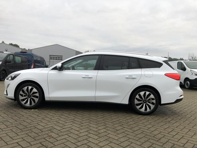 Ford Focus Turnier - 1.0 EcoBoost 100PS Cool & Connect LED-Scheinw. Klima 17LM Ford-Navi SYNC3 DAB+ 8''-Touchscreen mit Bluetooth Apple CarPlay Android Auto PDC v+h Rückf.Kamera