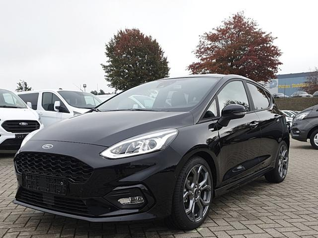 Ford Fiesta - 1.0 EcoBoost Hybrid 125PS ST-Line 5-türig Voll-LED Klimaautomatik Sitzheizung Lenkradheizung Ford-Navi SYNC3 DAB+ 8''-Touchscreen mit Bluetooth Apple CarPlay Android Auto Frontscheibe beheizb. P
