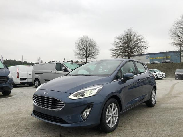 Ford Fiesta - 1.0 EcoBoost 95PS Titanium X 5-türig Klimaautomatik Sitzheizung Lenkradheizung Frontscheibe beheizb. Ford-Navi SYNC3 DAB+ 8''-Touchscreen mit Bluetooth Apple CarPlay Android Auto B+O Sound PDC K