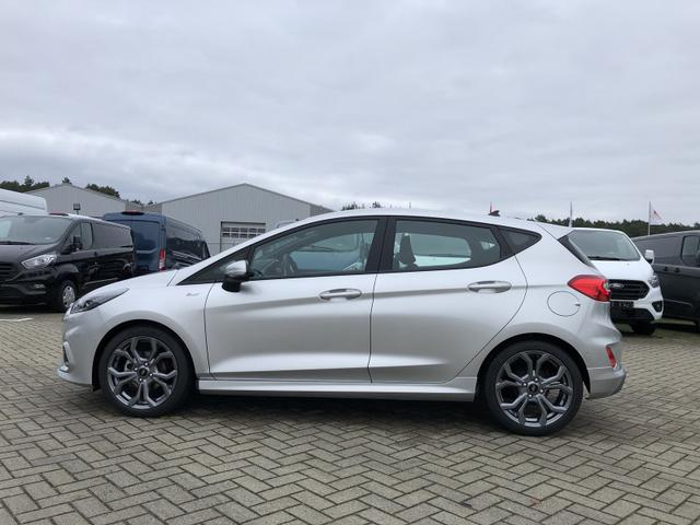 Fiesta 1.0 EcoBoost Hybrid 125PS ST-Line 5-türig Voll-LED Klimaautomatik Sitzheizung Lenkradheizung Ford-Navi SYNC3 DAB+ 8''-Touchscreen mit Bluetooth Apple CarPlay Android Auto Frontscheibe beheizb. P