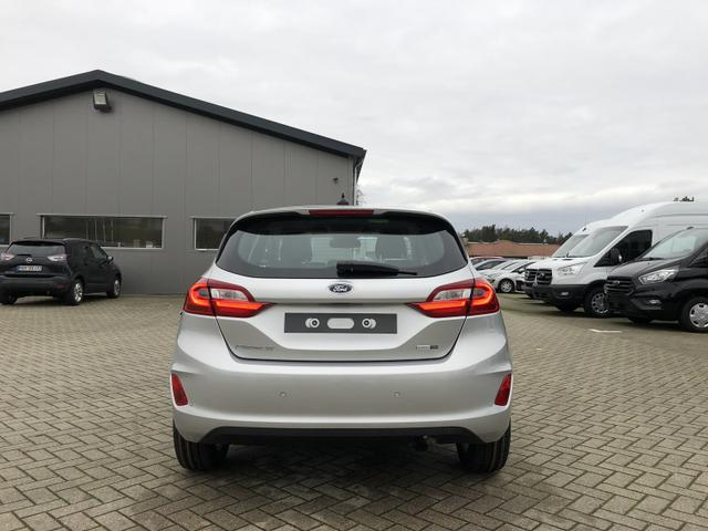Ford (EU) Fiesta 1.0 EcoBoost Hybrid 125PS Titanium 5-türig Voll-LED Klimaautomatik Sitzheizung Lenkradheizung Ford-Navi SYNC3 DAB+ 8''-Touchscreen mit Bluetooth Apple CarPlay Android Auto Frontscheibe beheizb.
