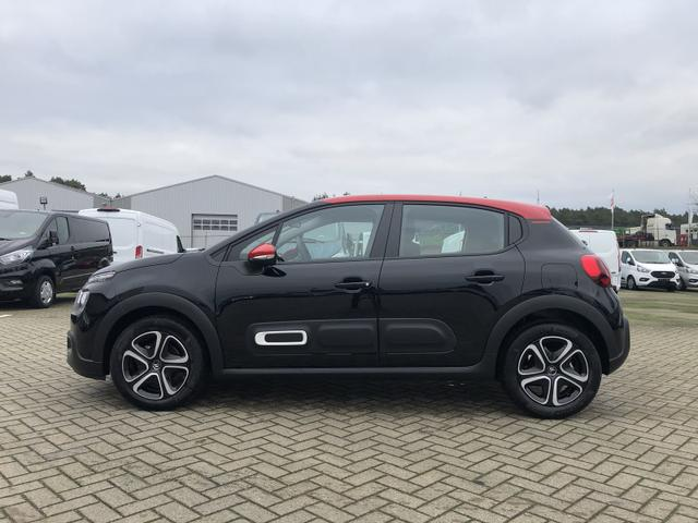 Citroën C3 - 1.2 83PS Feel Pack AirBump Neues Modell LED-Scheinw. Klimatronic Citroen-Radio mit Bluetooth DAB+ 7''-Touchscreen Apple CarPlay Android Auto Tempomat 16''-3D-Designkappen