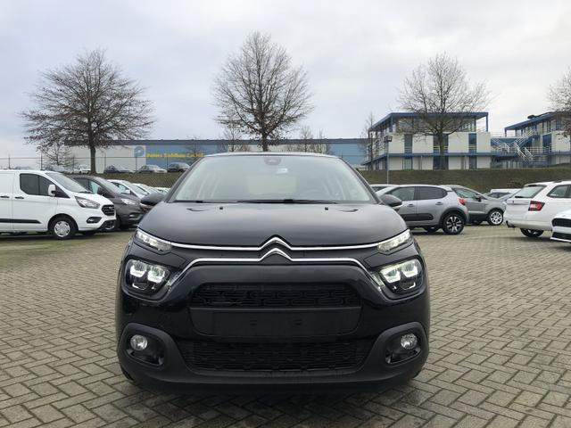 C3 1.2 83PS Feel Pack AirBump Neues Modell LED-Scheinw. Klimatronic Citroen-Radio mit Bluetooth DAB+ 7''-Touchscreen Apple CarPlay Android Auto Tempomat 16''-3D-Designkappen