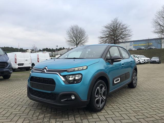 Gebrauchtfahrzeug Citroën C3 - 1.2 83PS Feel Pack AirBump Neues Modell LED-Scheinw. Klimatronic Citroen-Radio mit Bluetooth DAB  7''-Touchscreen Apple CarPlay Android Auto Tempomat 16''-3D-Designkappen