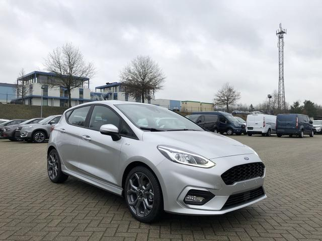 Fiesta 1.0 EcoBoost 95PS ST-Line 5-türig Klimaautomatik Ford-Radio SYNC 3 DAB+ Bluetooth 8''-Touchscreen Apple Carplay Android Auto Sitzheizung Lenkradheizung Frontscheibe beheizb. PDC