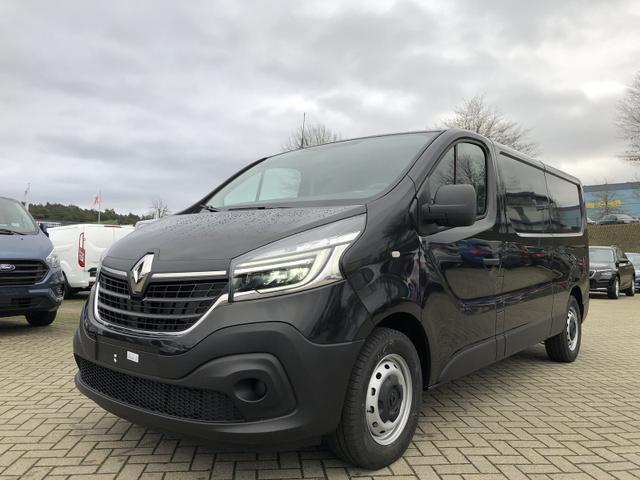 Renault Trafic Kastenwagen - L2H1 2.0 dCi 145PS Automatik Komfort 3,0t 3-Sitzer Klima Anhängerkupplung LED-Scheinw. Renault-Navi DAB+ Apple CarPlay Android Auto Bluetooth Parksensoren Tempomat