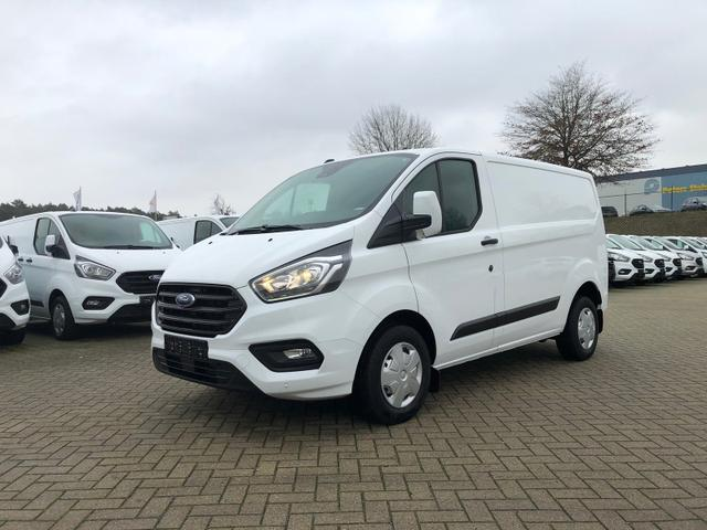 Ford Transit Custom - L1 2.0 TDCi 108PS Trend 2,8t 3-Sitzer Klima Anhängerkupplung Ford-Radio Bluetooth 8''-Touchscreen Apple Carplay Android Auto Rückf.Kamera Frontscheibe beheizb. PDC v+h Tempomat