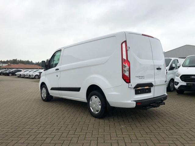 Transit Custom L1 2.0 TDCi 108PS Trend 2,8t 3-Sitzer Klima Anhängerkupplung Ford-Radio Bluetooth 8''-Touchscreen Apple Carplay Android Auto Rückf.Kamera Frontscheibe beheizb. PDC v+h Tempomat