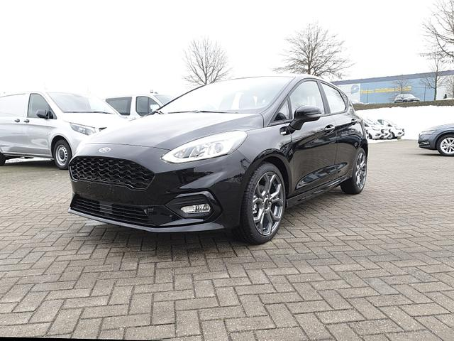 Ford Fiesta - 1.0 EcoBoost 95PS ST-Line 5-türig Klimaautomatik Ford-Radio SYNC 3 DAB  Bluetooth 8''-Touchscreen Apple Carplay Android Auto Sitzheizung Lenkradheizung Frontscheibe beheizb. PDC Lagerfahrzeug