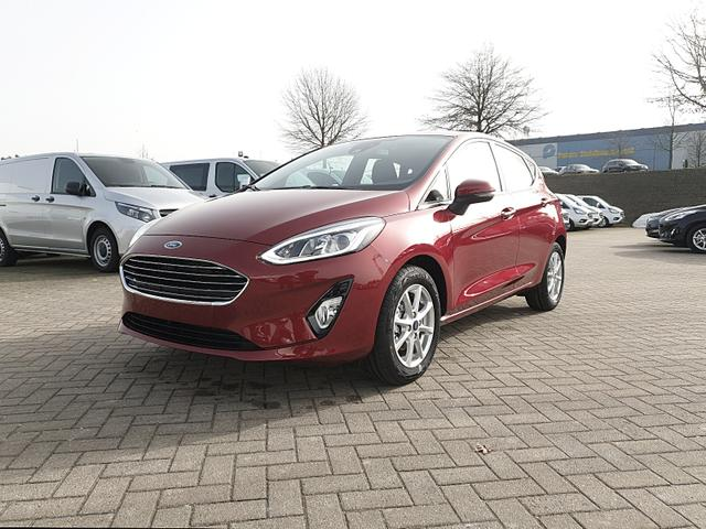 Fiesta      1.0 EcoBoost 95PS Titanium 5-türig Winterpaket Klimaautomatik Ford-Navi SYNC 3 DAB+ Bluetooth 8''-Touchscreen Apple Carplay Android Auto PDC