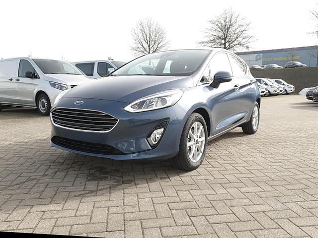 Lagerfahrzeug Ford Fiesta - 1.0 EcoBoost 95PS Titanium 5-türig Winterpaket Klimaautomatik Ford-Navi SYNC 3 DAB  Bluetooth 8''-Touchscreen Apple Carplay Android Auto PDC