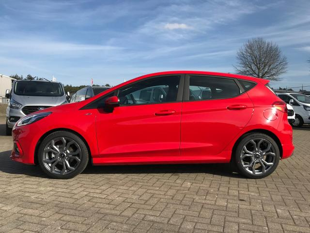 Ford Fiesta - 1.0 EcoBoost 95PS ST-Line 5-türig Winterpaket Klimaautomatik Navi-Ford SYNC 3 DAB+ Bluetooth 8''-Touchscreen Apple Carplay Android Auto PDC