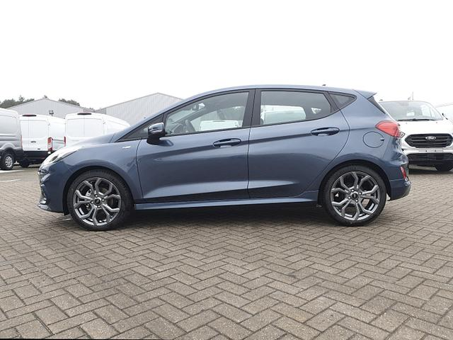 Ford Fiesta - 1.0 EcoBoost 95PS ST-Line 5-türig Klimaautomatik Ford-Radio SYNC 3 DAB+ Bluetooth 8''-Touchscreen Apple Carplay Android Auto Sitzheizung Lenkradheizung Frontscheibe beheizb. PDC